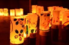 【 次点 】 「未来を照らす竹灯り」
